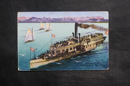 BATEAU - Allemagne - Starnberger See - Salondampier , Stanberg - L 35367 - Bateaux