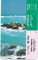 @+ EAU - Rocky Sea Shore - 60DHS - Emirats Arabes Unis