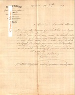 Document Du 23/07/1899 GANE Minoterie - Eymoutiers 87 - 1800 – 1899