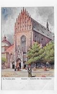 (RECTO / VERSO) KRAKOW EN 1914- ST. TONDOS PINX - BEAU TIMBRE AUTRICHIEN - SUPERBE CPA VOYAGEE - Polonia