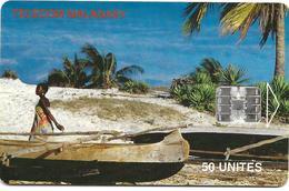 @+ TC De Madagascar : Beach Belo Sur Mer - 200 000ex ( Ref : MDG-41) - Madagascar