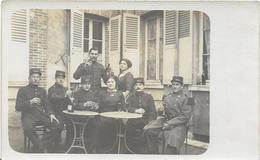 ~  JP  ~  MILITAIRE  à  IDENTIFIER   ~  GROUPE DE SOLDATS   ~ - Cartoline