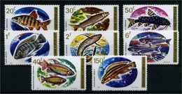 RUANDA 1973 Nr 577-584 Postfrisch (110252) - Fische