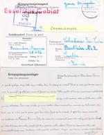 GUERRE 39-45 COR. PRISONNIER  DE GUERRE Au STALAG IV G /38 Oschatz, Allemagne - Rédigé Le 9-11-41 - WW II