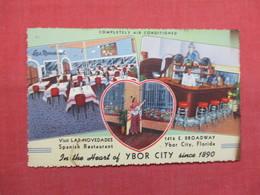 Las Novedades Spanish Restaurant Ybor City   - Florida > Tampa   Ref 3489 - Tampa