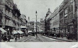 Carte Postale En ALUMINIUM, ROYAUME-UNI, Liverpool, Lord Street Avec éditeur Publicitaire Au Verso - Fantaisies