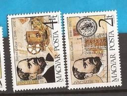 1988  UNGARN UNGHERIA  TAG DER BRIEFMARKE TELEPHON TELEGRAF    INTERESSANT   MNH - Ungheria