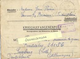 GUERRE 39-45 COR. PRISONNIERS DE GUERRE => FRONTSTALAG 211 SG / 2 SAARBURG Rédigé Le 8-12-1940 - Marcofilie (Brieven)