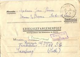 GUERRE 39-45 COR. PRISONNIERS DE GUERRE => FRONTSTALAG 211 SG / 2 SAARBURG Rédigé Le 27-11-1940 - Marcofilie (Brieven)