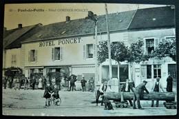 39 -JURA -  PONT De POITTE - Hotel CORDIER PONCET  - édition Bayard - France