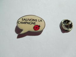 Beau Pin's , Sauvons La Campagne , Coccinelle - Animals