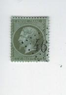 N° 19 Napoléon III  Oblitéré - 1862 Napoleon III
