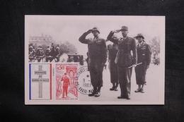 MILITARIA - Carte Postale - Guerre De 1939 / 45 - Général Bradley Et Général Koening - L 35397 - Weltkrieg 1939-45