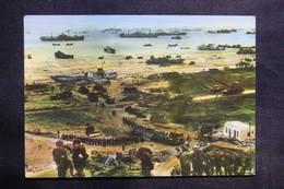 MILITARIA - Carte Postale - Guerre De 1939 / 45 - Débarquement En Normandie - L 35402 - Weltkrieg 1939-45