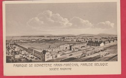 Marloie - Fabrique De Bonneterie Hanin-Maréchal, Société Anonyme  ( Voir Verso ) - Marche-en-Famenne
