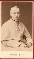 Photographie Ancienne De Pierre Petit, Portrait De Mgr Isoard, évêque D'Annecy, Photo Cdv De 1880, Bon état - Photos