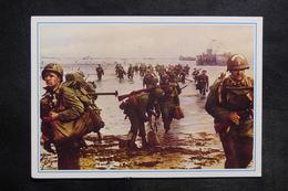 MILITARIA - Carte Postale - Guerre De 1939/45 - Débarquement En Normandie - L 35418 - Guerra 1939-45