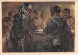 WWII WW2 Original Postcard Soviet URSS Patriotic Propaganda FREE STANDARD SHIPPING WORLDWIDE (2) - Russland