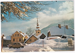 Kranjska Gora: ZASTAVA 1100  - Winter Snow - 810 M - (Slovenia, YU.) - Toerisme