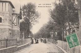 Rare Cpa La Baule Avenue Des Bouleaux - La Baule-Escoublac