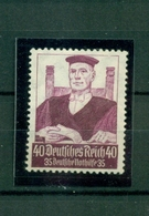 Deutsches Reich, Berufsstände, Nr. 564 Falz * - Ungebraucht