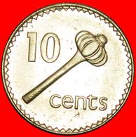 + WEAPON: FIJI ★ 10 CENTS 1997 MINT LUSTER! LOW START ★ NO RESERVE! - Figi