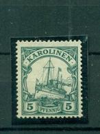 Deutsches Reich, Karolinen Schiffszeichnung Nr. A 21 Postfrisch ** - Kolonie: Karolinen