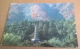 GLAZED TILE PAGODA AT FRAGRANCE HILL PARK   (54) - Cina
