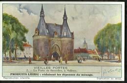 CHROMO LIEBIG . VIEILLES PORTES . LA PORTE DE  BRUXELLES , A MALINES . - Liebig