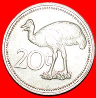 + GREAT BRITAIN BIRD: PAPUA NEW GUINEA ★ 20 TOEA 1975! LOW START ★ NO RESERVE! - Papoea-Nieuw-Guinea