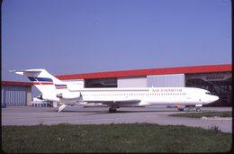 AIR CHARTER B 727  F-GCMV  /    DIAPOSITIVE  ORIGINAL KODAK - Diapositives (slides)
