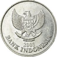 Monnaie, Indonésie, 100 Rupiah, 2001, TTB, Aluminium, KM:61 - Indonesia