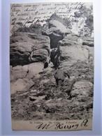 FRANCE - BAS RHIN - SAINTE ODILE - Felsentor - 1914 - Sainte Odile