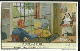 CHROMO LIEBIG . VINCENT VAN GOGH . AU COUVENT DE SAINT-REMY . - Liebig