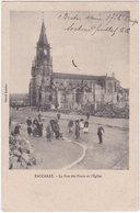 54. BACCARAT. La Rue Des Ponts Et L'Eglise - Baccarat