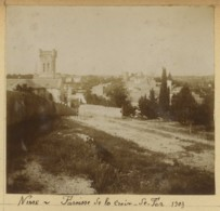 Gard . Nîmes . Eglise Saint-Luc . - Lieux