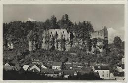 Larochette.   Les Ruines -  FOTOKAART!  -   1957   Naar   Evere - Larochette