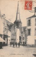Rare Cpa Guérande La Rue Du Pilori - Guérande