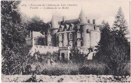 72. FLEE. Château De La Motte. 464 - Andere Gemeenten