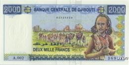 Djibouti 2000 Francs (P43) -UNC- - Dschibuti