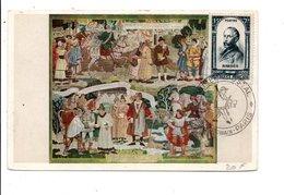 OBLITERATION MUSEE POSTAL PARIS 1948 - Commemorative Postmarks