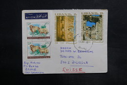 LIBAN - Affranchissement De Zahle Sur Enveloppe Pour La Suisse En 1968 - L 35476 - Lebanon