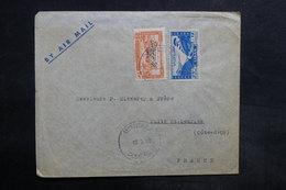 LIBAN - Affranchissement De Beyrouth Sur Enveloppe Commerciale Pour La France En 1948 - L 35477 - Lebanon