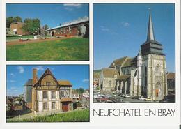 NEUFCHATEL EN BRAY. CP Multivues - Neufchâtel En Bray