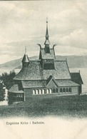 Sogn Og Fjordane, Balholm; Engelske Kirke - Not Circulated. (Carl Tietz, Hofphotograph - Balestrand) - Norway