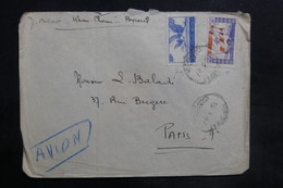 LIBAN - Affranchissement Recto Et Verso De Beyrouth Sur Enveloppe  Pour La France En 1947 - L 35482 - Lebanon