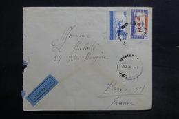 LIBAN - Affranchissement Recto Et Verso De Beyrouth Sur Enveloppe  Pour La France En 1946 - L 35483 - Lebanon