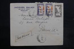 LIBAN - Affranchissement Recto Et Verso De Beyrouth Sur Enveloppe  Pour La France En 1946 - L 35484 - Lebanon