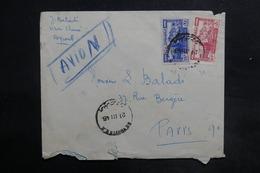 LIBAN - Affranchissement Recto Et Verso De Beyrouth Sur Enveloppe Pour La France En 1946 - L 35485 - Lebanon