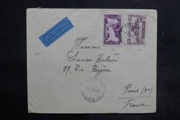 LIBAN - Affranchissement Recto Et Verso De Beyrouth Sur Enveloppe Commerciale Pour La France En 1946 - L 35487 - Lebanon